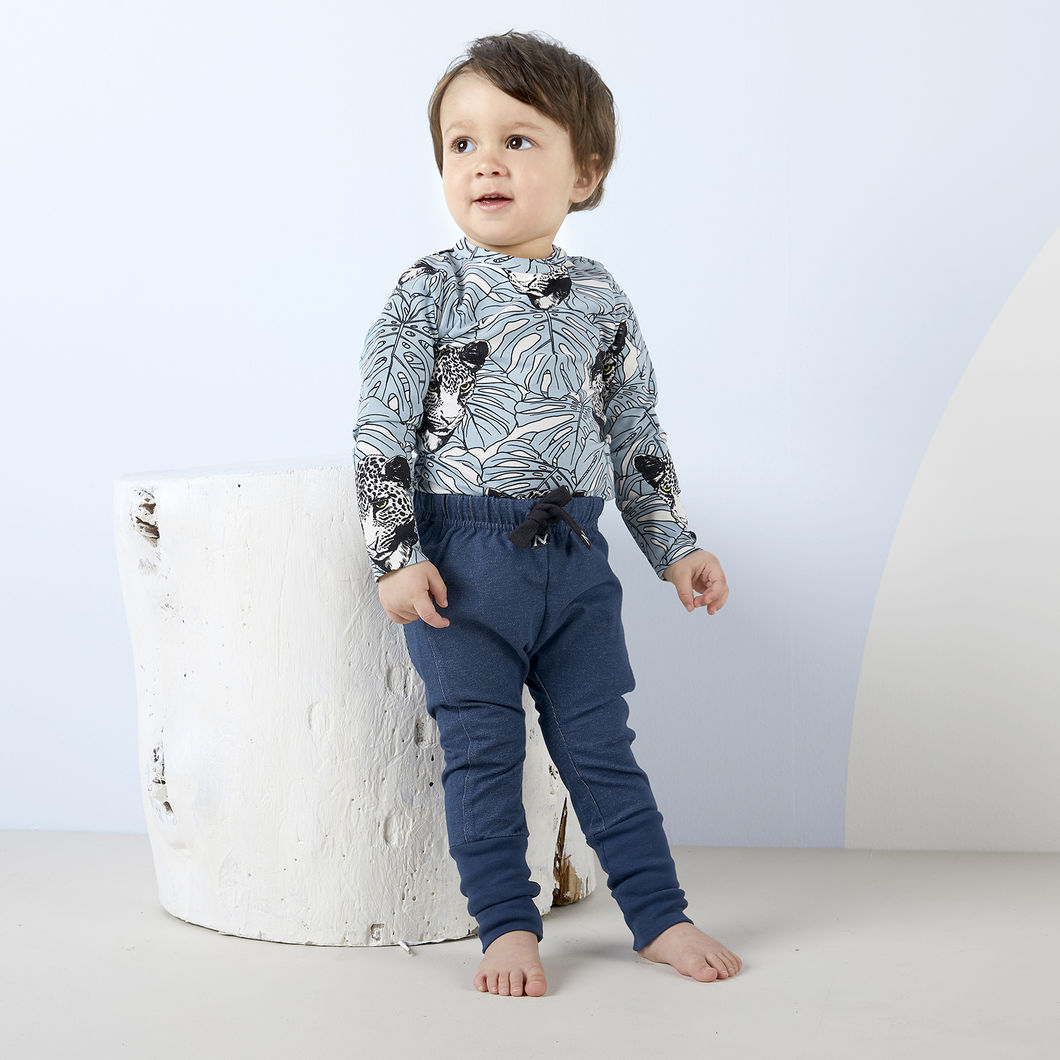 ROCK baby housut, denim-look siniharmaa