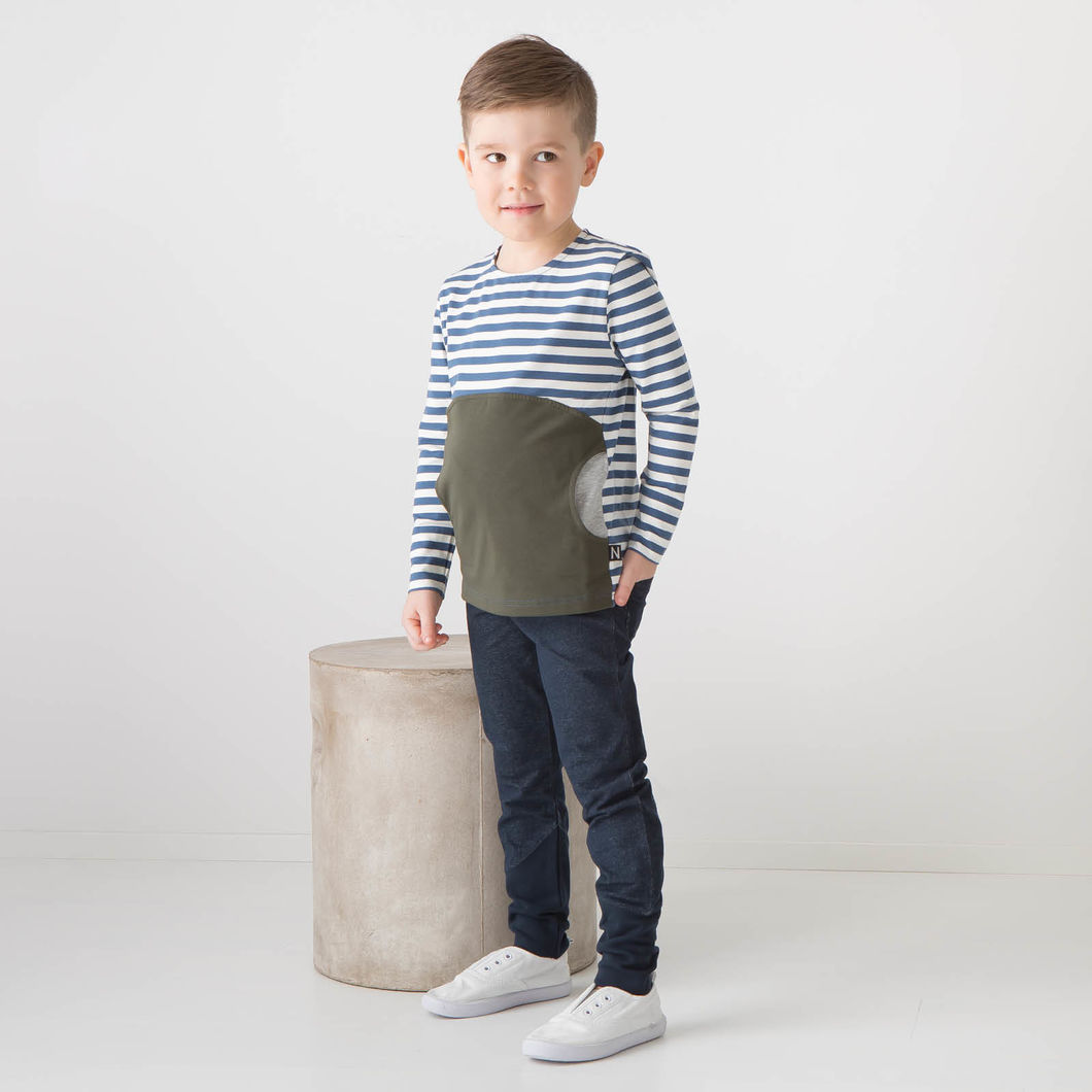 ROCK STAR junior, denim-look navy